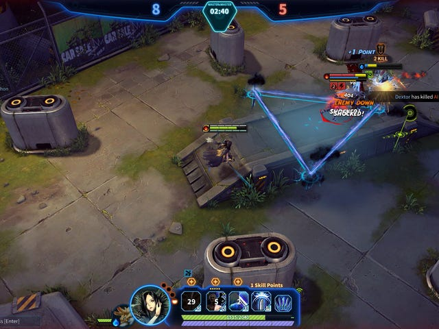 NCsoft Launches A Slightly Different Sort Of MOBA