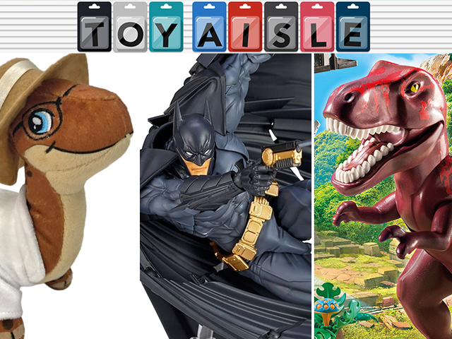 A Ridiculously Posable Batman Cape, and More of the Most Delightful Toys of the Week