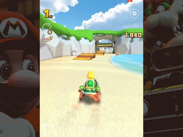 Các giao dịch vi mô của Mario Kart Tour Cảm thấy rất tuyệt trong một thế giới Arcade sau Apple