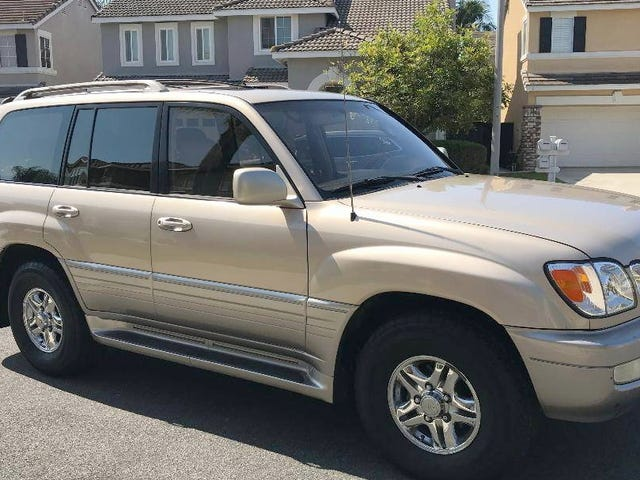 At $8,000, Could This 2001 Lexus LX470 Be Your Gold Standard?