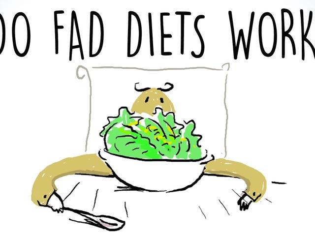 Hvorfor Fad Dietter ikke fungerer, og hvordan å spot dem