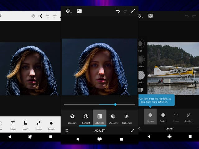 Photoshop Fix, the Simple Photo Retouching Tool, Comes to Android
