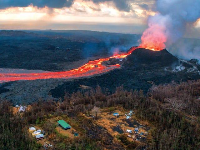 Fortes chuvas podem ter provocado a erupção explosiva de Kilauea em 2018