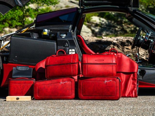 Pagani luggage set
