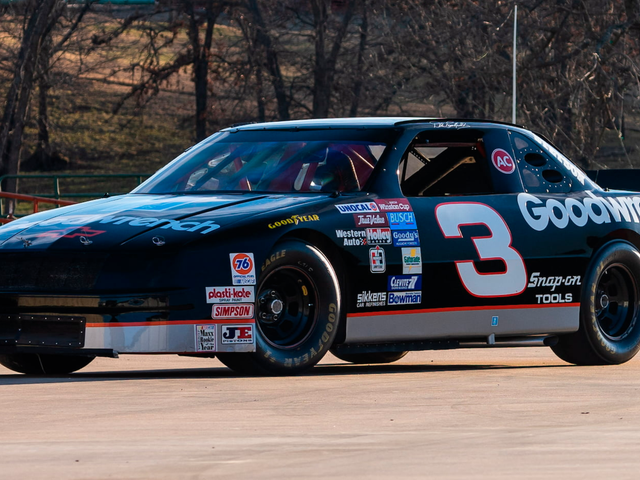 Several of Dale Earnhardt's Race Cars Will Be Up for Auction Later This Week [Updated: Team Says the Cars Are 'Not What They Claim to Be']