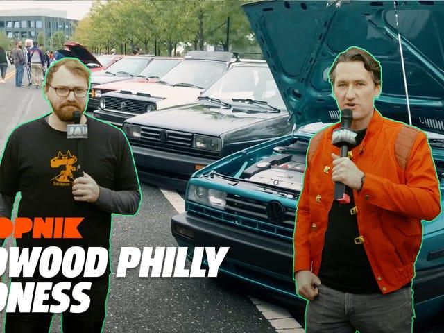 Lähdetään lähelle joitakin parhaista autoista Radwood Philadelphiassa