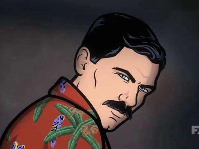<i>Archer</i> retour avec une <i>Magnum P.I.</i> Spoof parfaite