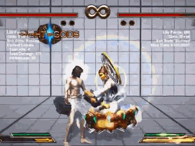 เกมต่อสู้ผู้เล่นค้นหา Combos ที่ดีที่สุดสำหรับพระเยซูและพระพุทธรูป