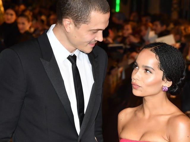Flores para Zoë: Estrelas saem para ver Zoë Kravitz se casar com Karl Glusman na França