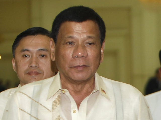 Philippines President Brags About Riding Around on a Motorcycle and'Personally' Killing People