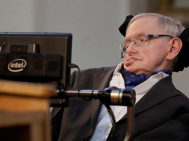 Tesis Ph.D. Stephen Hawking Kini Memperbaiki Laman Web Cambridge [Dikemaskini]