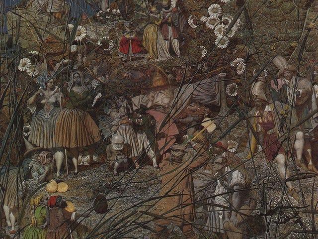 Richard Dadd: Arte del asilo de locos