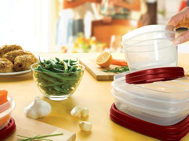 Restock Your Leftover Container Collection With This 60 Piece Rubbermaid Set
