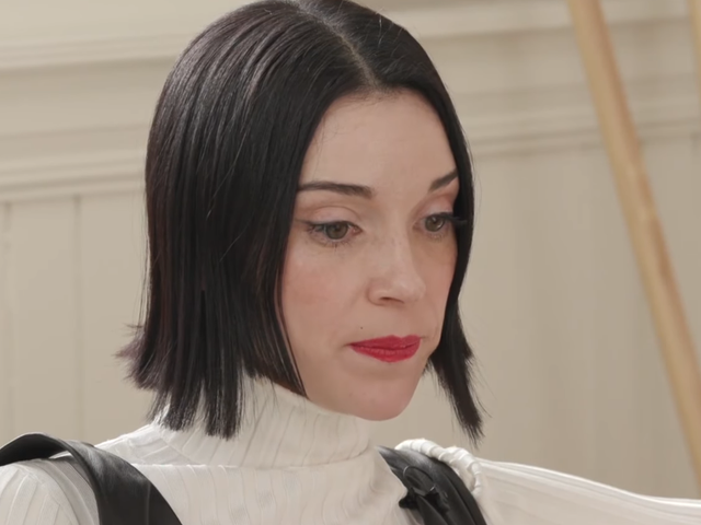 After Confessing To Playing 300 Hours Of Breath Of The Wild, St. Vincent Realizes She's Played 300 Hours Of Breath Of The Wild