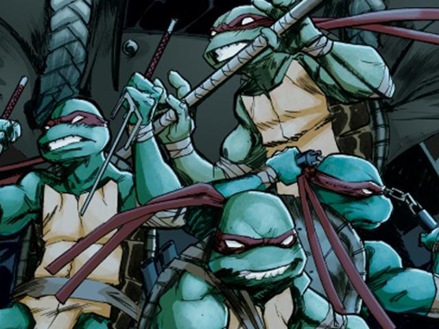 Holy Cow, The Latest <i>Ninja Turtles</i> Comic har et helvede af en shock