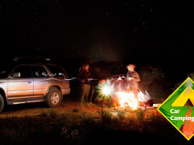 Nine Items To Create the Ultimate Car Camping Kit