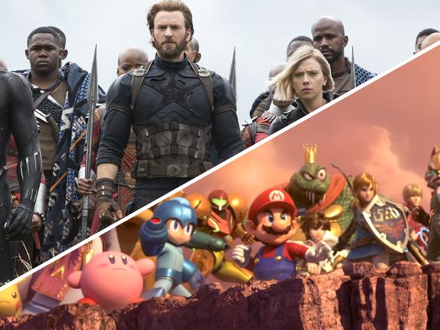 Super Smash Bros. Ultimate Basically Just Leaked the Trailer for Avengers 4