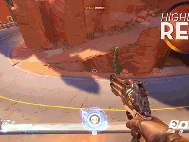 <i>Overwatch</i> Players Stage A McCree Shootout för åren