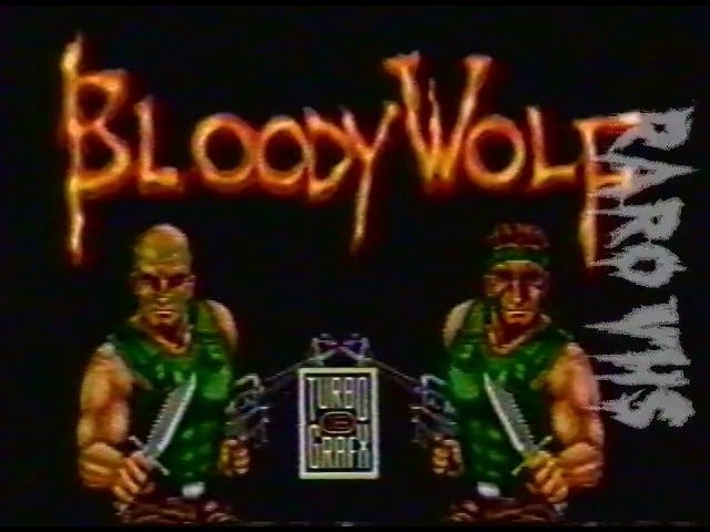 Late TAY Retro: TurboGrafx-16 |  Blutiger Wolf |  Fernsehwerbung (NA)