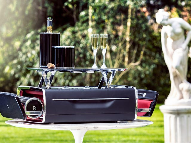 My Best Friend Rolls-Royce Made Me a Champagne Chest
