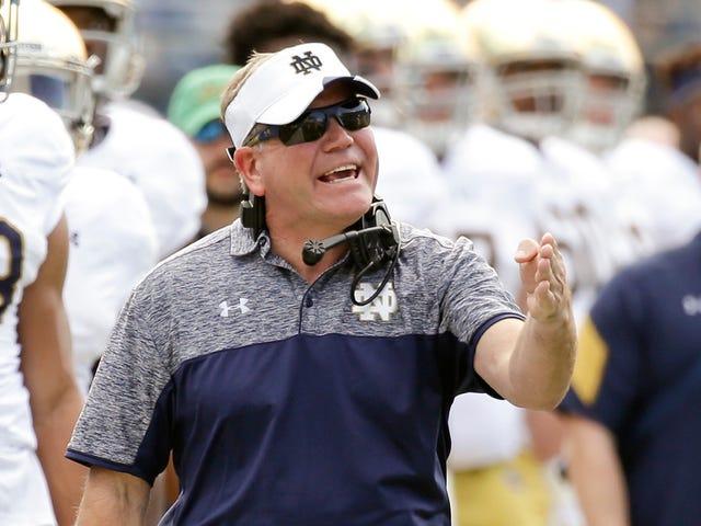 Notre Dame appellerà la revoca della NCAA per le vittorie del 2012, 2013
