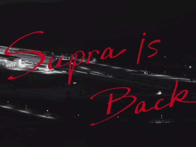 Hei visste du at Toyota Supra er tilbake