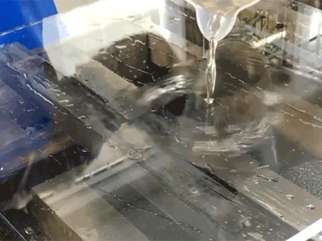 Watch an Artist Instantly Create a Mirror With Liquid Silver Nitrate