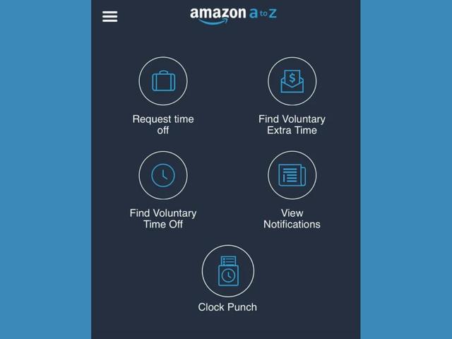 Amazon lar nå lagerarbeidere slå seg inn fra telefonene sine