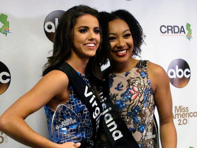 Miss America-deelnemer krijgt dat NFL-protesten over politie-brutaliteit gaan