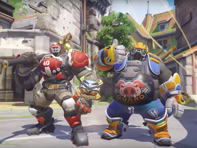 Overwatch Heroes Are Looking Sporty For Summer