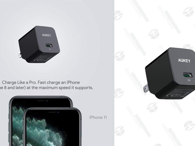 Tämä 10 dollarin USB-C-laturi on Brainer-päivitys Applen vakioadapterista