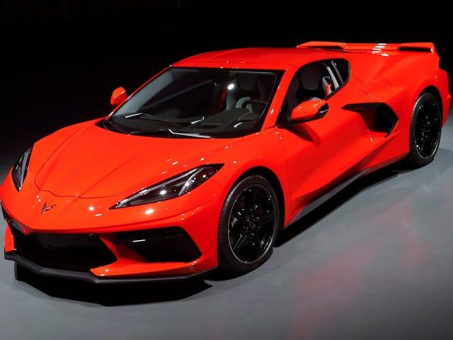 Το C8 Corvette φέρεται να τρέχει το τεταρτημόριο σε 11,3 δευτερόλεπτα στα 121 MPH