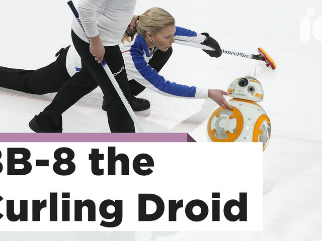 BB-8 Curling Is the Olympic Sport We All Need