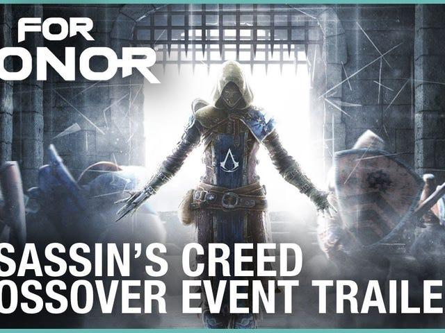 For Honor får en begivenhed i begrænset tid med Assassin's Creed.  Det starter i dag og løber gennem 10. januar, og det vil ...