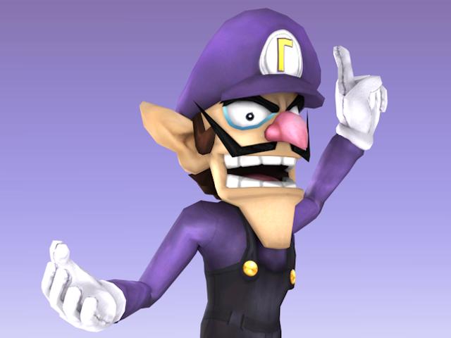 Wahaha, <i>Smash Bros.</i> Jugadores Mod Waluigi In <i>Brawl</i>