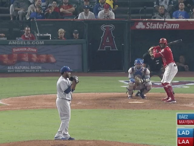 Angels Beat Dodgers On A Zeldzame Walk-Off Strikeout