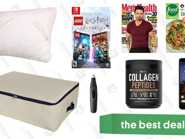 Saturday's Best Deals: Jachs Henleys, Philips Norelco, Best-Selling Magazines, and More