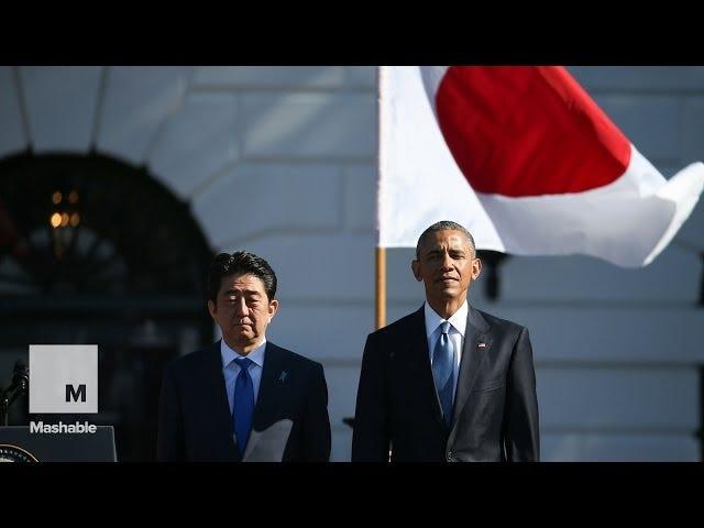 オバマ感謝アニメ日本のアニメ