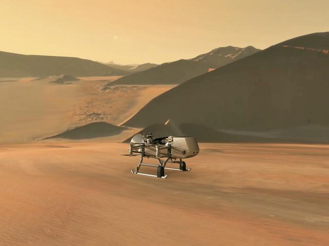 Die NASA sendet offiziell eine Flugdrohne an Titan und es ist ein wahr gewordener Traum