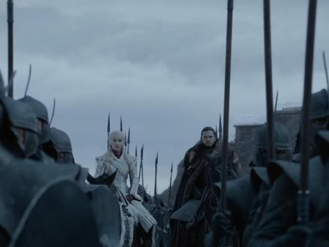 Mùa đông ở đây và Jon và Daenerys vẫn còn Def