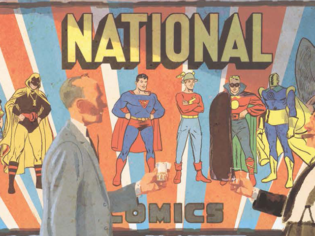 In This Preview ofThe Joe Shuster Story, Witness the Rise of the Golden Age of Superhero Comics
