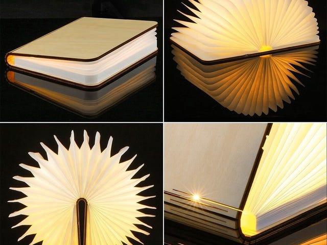 USB Light Book Folding LED Lightable USB