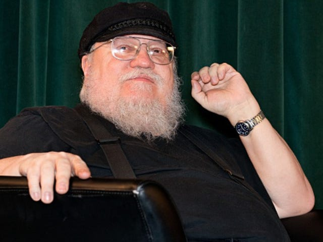 George R.R. Martin doesn't have time to watch <i>Game Of Thrones</i>