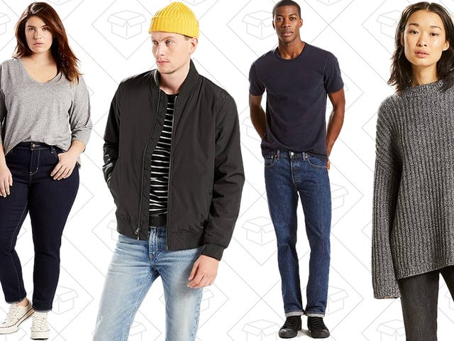 Grab 25% Off Fall Favorites From Levi's and Never Get Caught With Your Pants Down