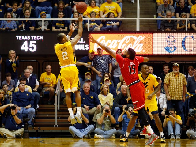 West Virginia Doesn't Make A Field Goal In Overtime, Beats Texas Tech In Double-OT Anyway