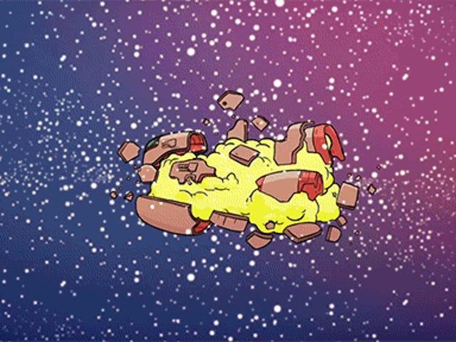 Весела коротка анімація показує випадкові способи, якими ви можете померти в космосі