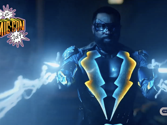 Black Lightning si unirà al Arrowverse?  Cress Williams aveva qualche pensiero al Comic-Con