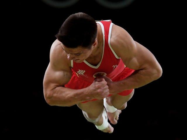 Die Rückkehr des Triple Back Somersault in der Gymnastik der Männer