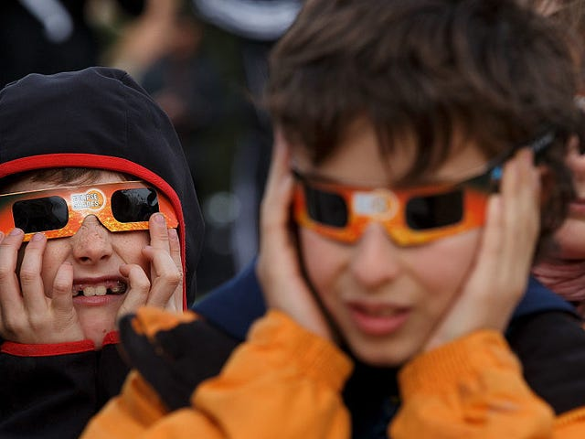 Yes, Your Kids Can Go Outside During the Solar Eclipse