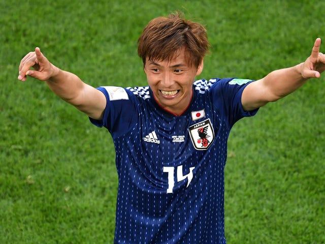 Altri giochi di Coppa del Mondo dovrebbero essere come il Giappone-Senegal